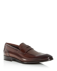 To Boot New York - Men's Deane Leather Apron Toe Penny Loafers