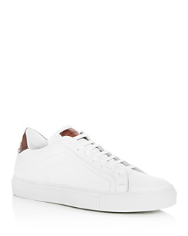 To Boot New York - Men's Carlin Leather Lace Up Sneakers
