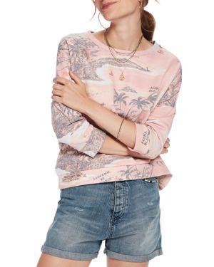 Scotch & Soda Super-Soft Printed Sweatshirt