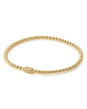 LAGOS - Caviar Gold Collection 18K Gold Beaded Bracelet, 3mm