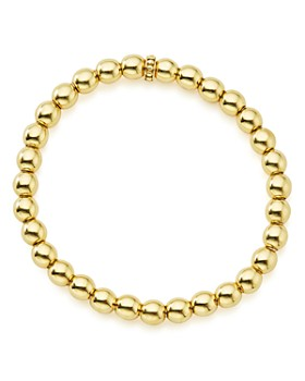 LAGOS - Caviar Gold Collection 18K Gold Beaded Bracelet, 6mm