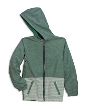 Sovereign Code - Boys' Bora Hooded Chambray Jacket - Little Kid, Big Kid
