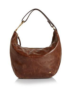 Halston Heritage Elsa Three-Way Convertible Leather Shoulder Bag 2836701