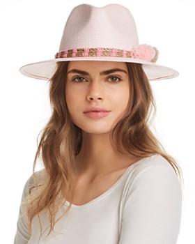 Helene Berman - Fedora Paper Hat