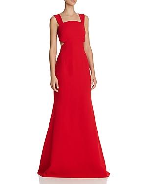 Jill Stuart Side-Cutout Gown