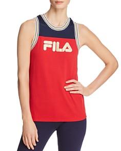 FILA - Yolanda Mesh-Inset Racerback Tank