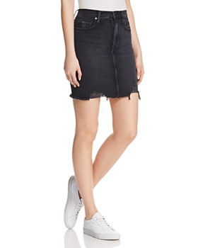 Nobody - Siren Denim Skirt in Notion