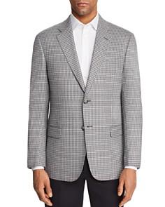 Armani - Check Stitch Regular Fit Sport Coat