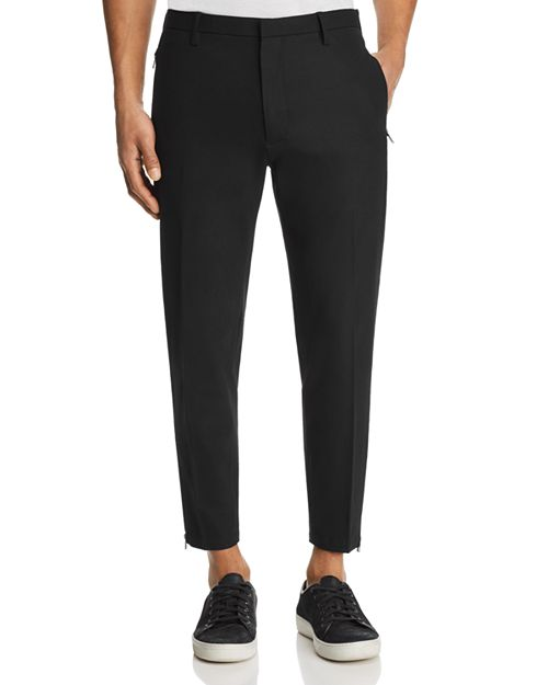 Emporio Armani - Ankle Zip Jogger Pants