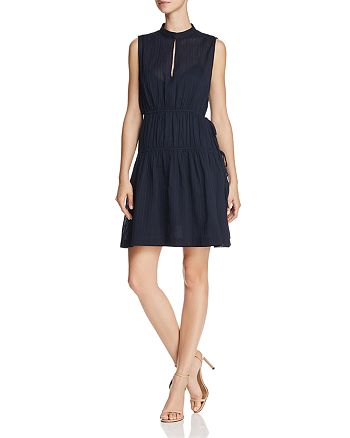 Derek Lam 10 Crosby - Shirred Drawstring Dress
