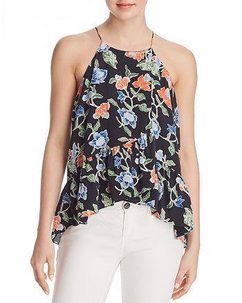 Joie - Derwen Floral Silk Top