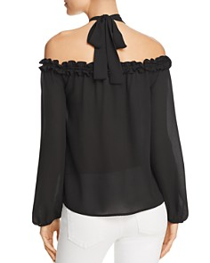 Sadie & Sage - Off-the-Shoulder Halter Top - 100% Exclusive