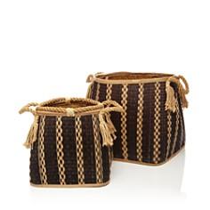 Britannica - Mesa Hand-Woven Seagrass Baskets - 100% Exclusive
