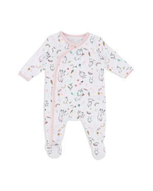 Little Marc Jacobs Girls' Unicorn-Print Footie - Baby
