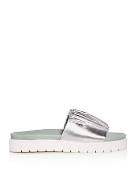 Daniella Lehavi - Women's Sahara Soft Leather Platform Slide Sandals