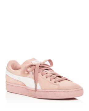Puma Women's Classic Suede Lace Up Sneakers CUVi6xx1
