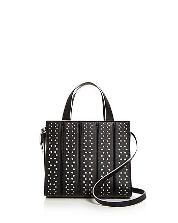 Max Mara - Small Whitney Perforated Leather Satchel