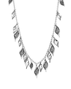 "John Hardy Sterling Silver Classic Chain Wave Petal Necklace, 36"" - Bloomingdale's_0"