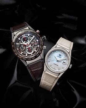 5bacb4bb1a ... 36mm TAG Heuer - Carrera Diamond Bezel Watch