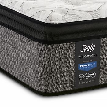 Sealy Posturepedic - Surprise Plush Euro Pillow Top Twin Mattress Only