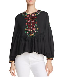 Joie Ghita Embroidered Top - Bloomingdale's_0