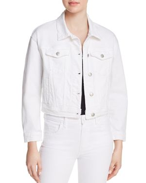Joe's Jeans Cropped Denim Jacket in Artemis