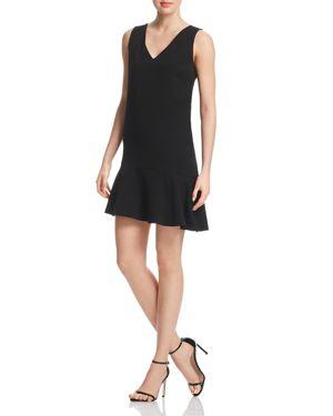 Aqua Flounce-Hem Shift Dress - 100% Exclusive 2829013