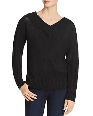 Aqua V-Back Tunic Sweater - 100% Exclusive