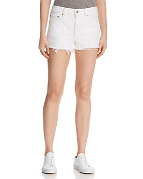 Levi's - 501 Denim Shorts in Super Sonic