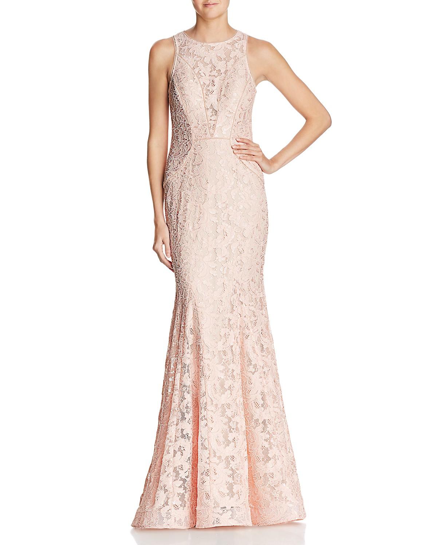 Aqua Lace Mermaid Gown 100 Exclusive Bloomingdales