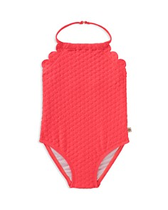 kate spade new york Girls' Scalloped Textured Swimsuit - Baby - Bloomingdale's_0