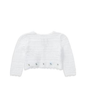 Ralph Lauren - Girls' Embroidered Pointelle Sweater - Baby