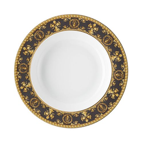 Versace By Rosenthal - I Love Baroque Nero Rim Soup