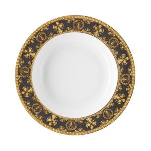 Versace By Rosenthal I Love Baroque Nero Rim Soup