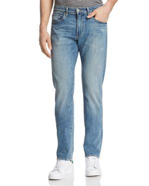 S.M.N STUDIO Hunter Standard Slim Fit Jeans In Windsom - 100% Exclusive in Medium Blue