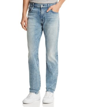 7 For All Mankind Adrien Luxe Sport Slim Fit Jeans in Authentic Sonar