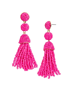 girlz products club earrings wm star studded collections glitzy neon pink ritzy