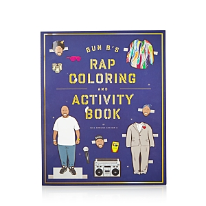 Chronicle Books Bun B's Rap Coloring and Activity Book