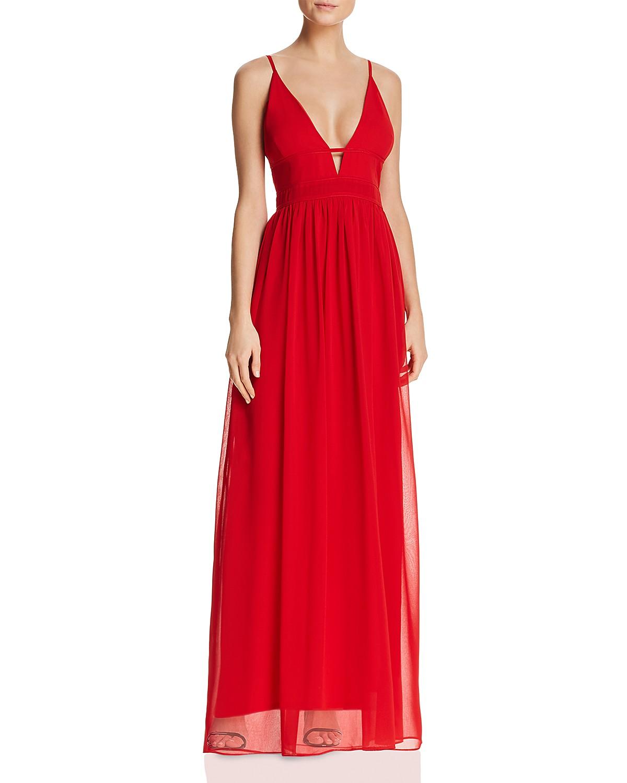 Aqua Grecian Plunge Gown 100 Exclusive Bloomingdales