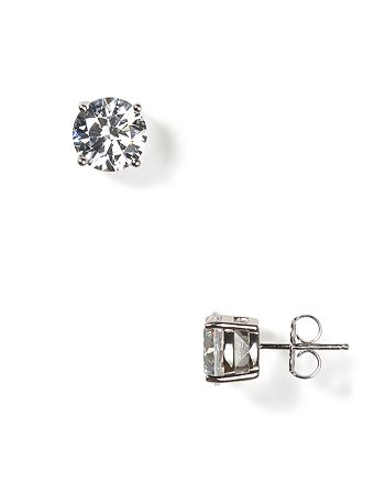 Crislu - Stud Earrings, 8mm