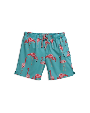 Sovereign Code Boys Flamingo Swim Trunks  Big Kid