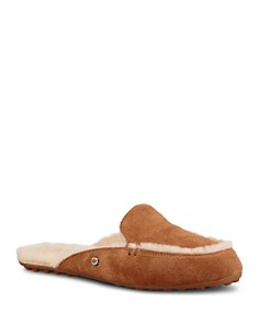 UGG® - Women's Lane Suede & Shearling Slippers