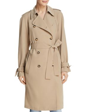 DYLAN GRAY TRENCH COAT