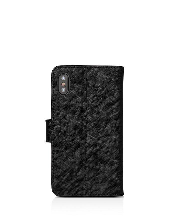 3a79860def9489 MICHAEL Michael Kors Folio Leather iPhone X Phone Case   Bloomingdale's