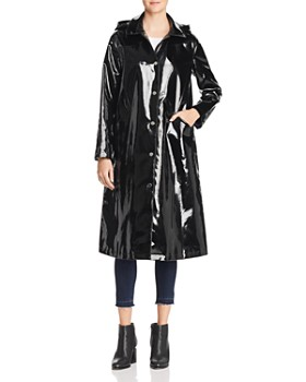 Jane Post - Long Snap Slicker Raincoat