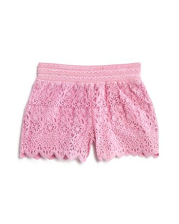 Design History - Girls' Lace Shorts - Little Kid