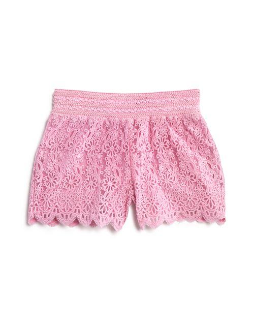 Design History - Girls' Lace Shorts - Little Kid