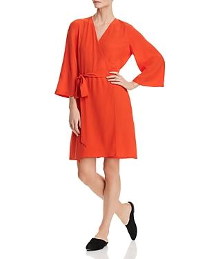 Eileen Fisher Silk Wrap Dress - 100% Exclusive