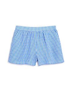 AQUA Girls' Gingham Shorts, Big Kid - 100% Exclusive - Bloomingdale's_0