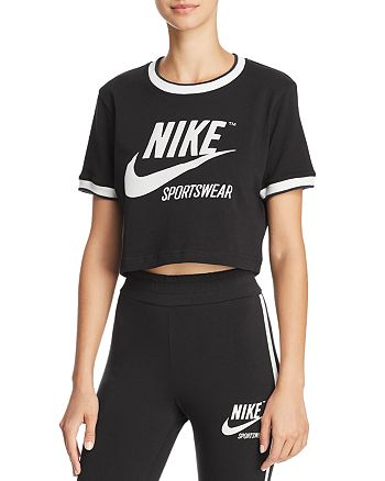 Nike - Archive Logo Cropped Tee